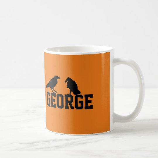 Crows On My Name Coffee Mug