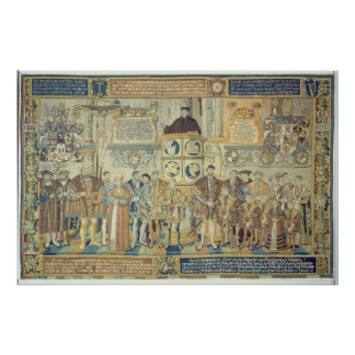 Croy Tapestry, 1554 Poster