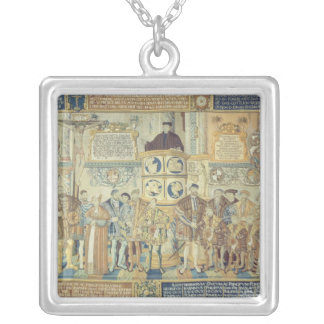 Croy Tapestry, 1554 Silver Plated Necklace