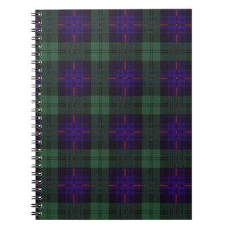 Crozier clan Plaid Scottish kilt tartan Notebook