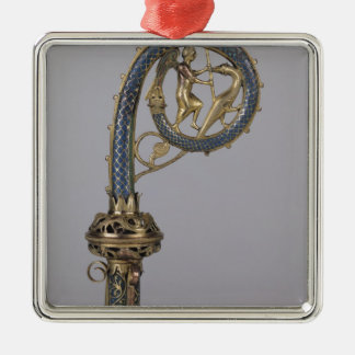 Crozier depicting St. Michael Christmas Ornament