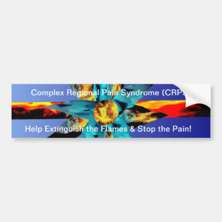 CRPS Extinguish the Flames & Stop the Pain Sticker Bumper Sticker
