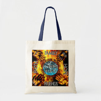 CRPS Keeping our World Turning  Tote Budget Tote Bag