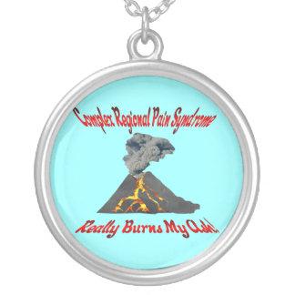 CRPS Really Burns My Ash Erupting Volcano Necklace