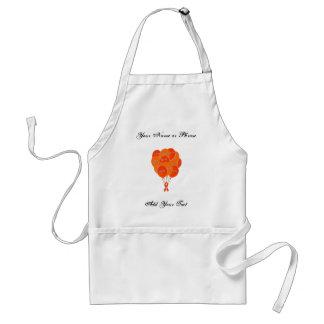 CRPS RSD Balloons Hope Over Pain Phoenix Ribbon Adult Apron