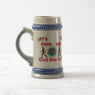 CRPS RSD Civil War to ? Stein Coffee Mug