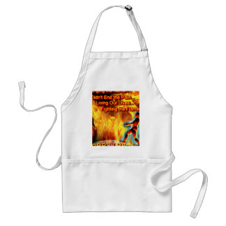 CRPS/RSD Living Our Lives, Fighting the Flames Apron