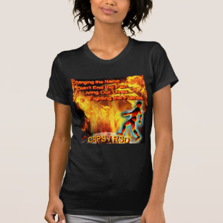 CRPS/RSD Living Our Lives, Fighting the Flames Tee Shirts