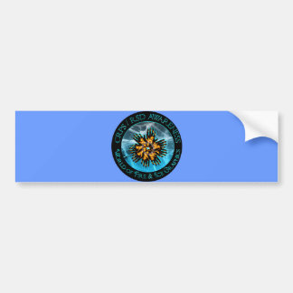 CRPS/RSD World of Fire & Ice Bumper Sticker Car Bumper Sticker