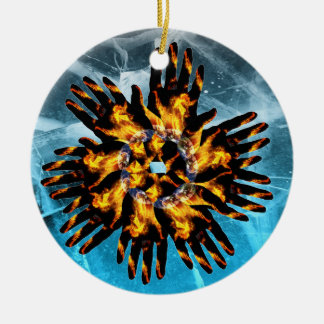 CRPS /RSD World of Fire & Ice Christmas Ornament