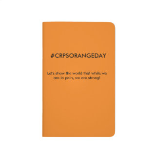 #CRPSORANGEDAY Orange Pocket Journal