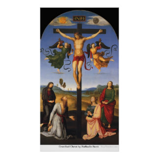 Crucified Christ by Raffaello Santi Poster