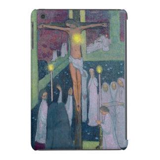 Crucified Sacred Heart, 1894 iPad Mini Cases