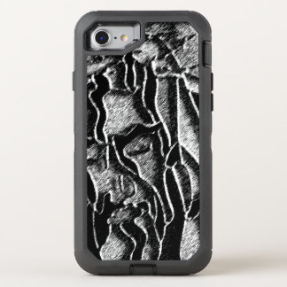 Crucified Sketched OtterBox Defender iPhone 7 Case