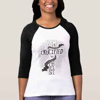Crucified With Christ - Black T-Shirt