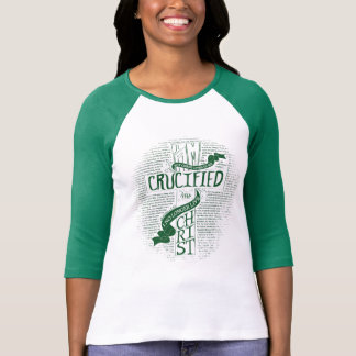Crucified with Christ - Green T-Shirt