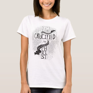 Crucified With Christ - White T-Shirt