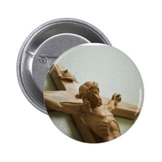 Crucifix Button