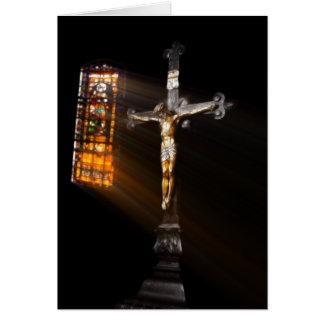Crucifix Card