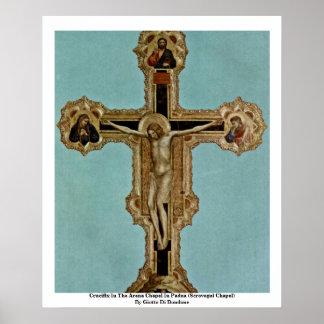 Crucifix In The Arena Chapel In Padua Print