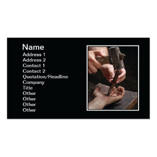 Crucifixion Business Card