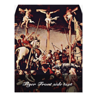 Crucifixion By Lotto Lorenzo (Best Quality) Flyer