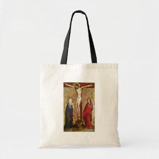 Crucifixion By Meister Des Pähler Altars (Best Qua Tote Bag