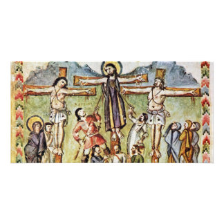 Crucifixion By Meister Des Rabula-Evangeliums (Bes Photo Cards