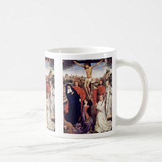 Crucifixion By Memling Hans Mug