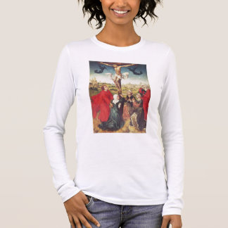 Crucifixion, c.1510 (oil on panel) long sleeve T-Shirt