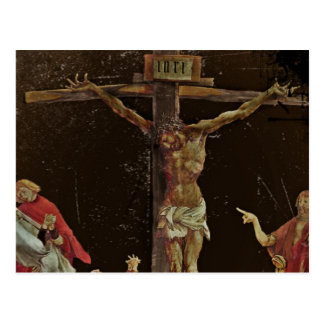 Crucifixion Center Panel Psalter Post Card