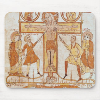 Crucifixion & Division of  Clothes of the Mouse Mat