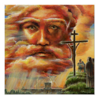 Crucifixion, Good Friday Poster