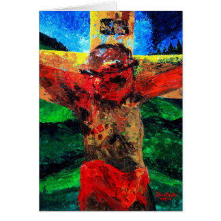 Crucifixion- it is finished 2009 card