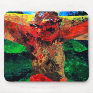 Crucifixion- it is finished 2009 mouse mat