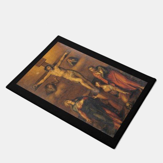 Crucifixion of Christ Doormat