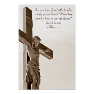 Crucifixion of Jesus Christ poster