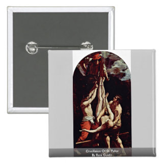Crucifixion Of St. Peter By Reni Guido Pins