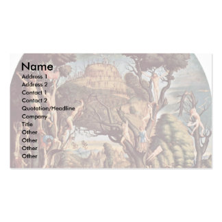 Crucifixion Of The Ten Thousand On Mount Ararat Pack Of Standard Business Cards