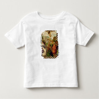 Crucifixion (oil on panel) toddler T-Shirt