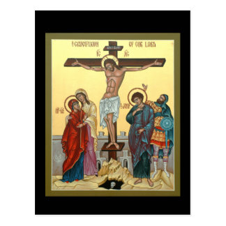 Crucifixion Prayer Card