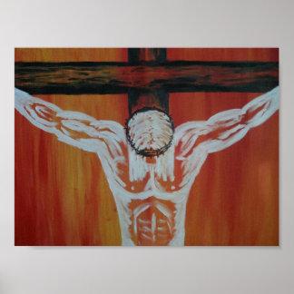 Crucifixion print