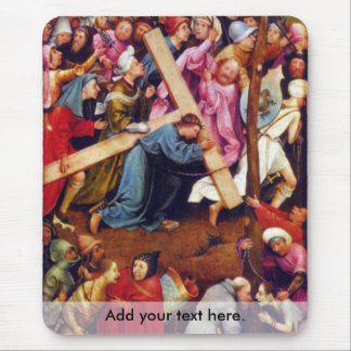 Crucifixion transmission (Christ on Calvary) Mouse Pad