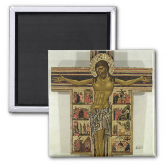 Crucifixion with Stories of the Passion, School of Square Magnet