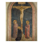 Crucifixion with the Virgin, SS. John the Evangeli Poster
