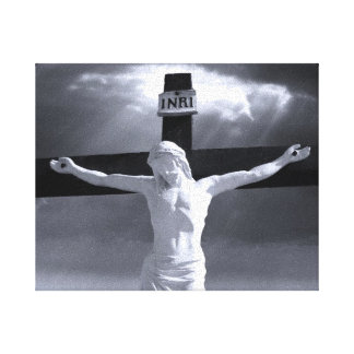 Crucifixion Wrapped Canvas