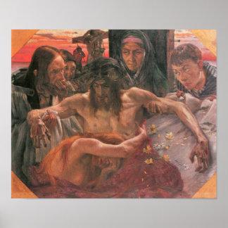 Crucify by Lovis Corinth Print