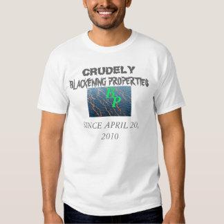CRUDE WATER T SHIRTS