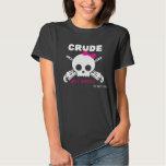 Crude, yet sweet - for dark coloured shirts