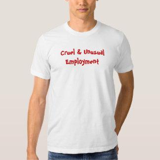 Cruel & Unusual Tshirts